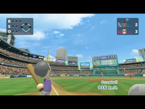 Wii Sports Club Baseball: Online Game