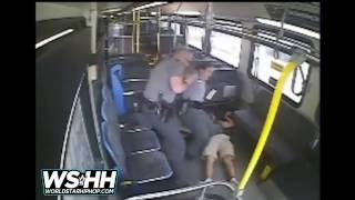 WARNING GRAPHIC CONTENT: Police Fatally Shoot Man On A Bus After He Tried To Grab A Cop's Gun