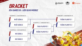 THA vs INA | VIE vs MAS - Bán Kết Sea Games 30 - Garena Liên Quân Mobile