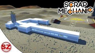 Scrap Mechanic #21 - Baza księżycowa i maszyny rolnicze