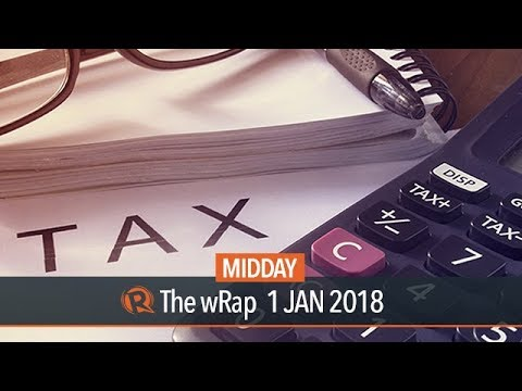 Filipinos to welcome 2018 with new withholding tax rates