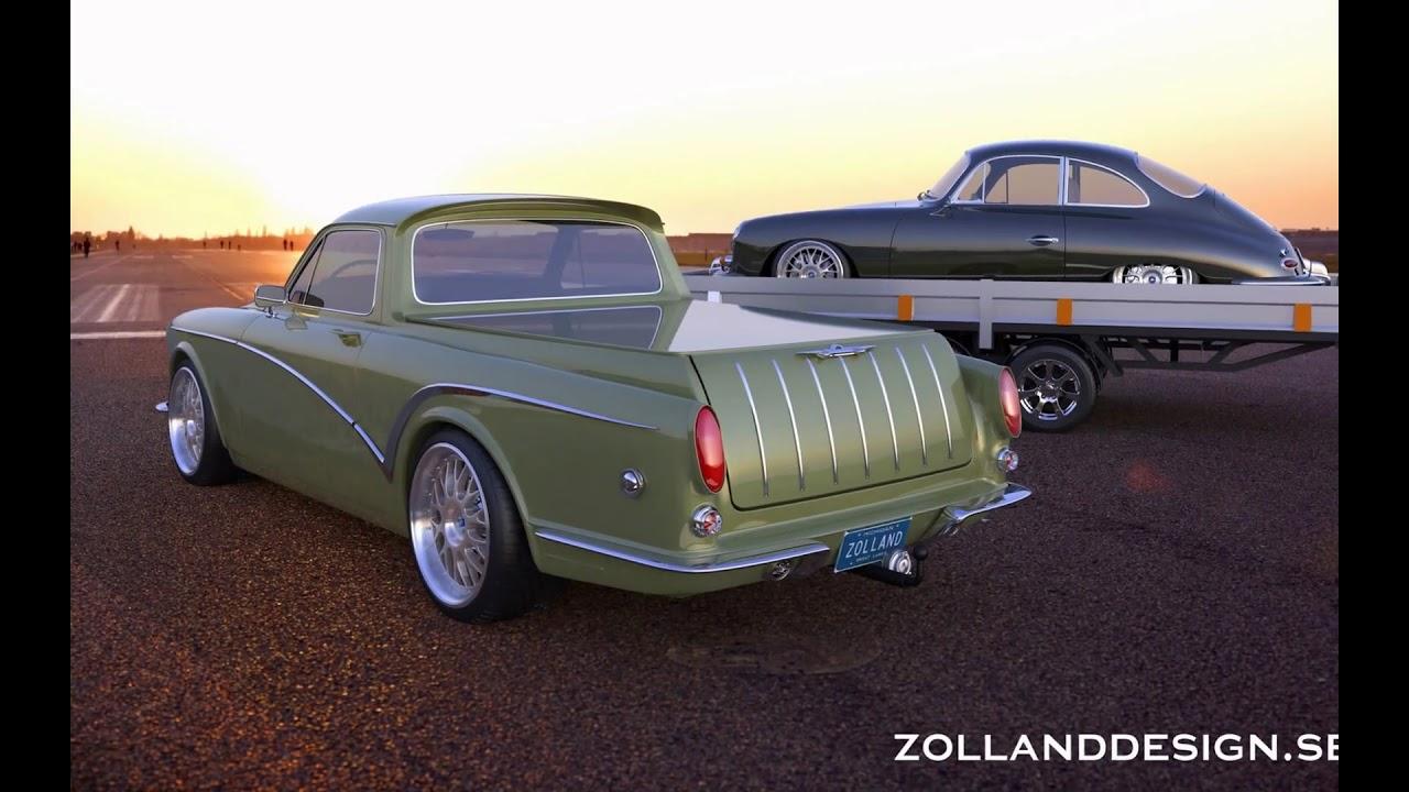 2015 Zolland Design Volvo Amazon Pickup - YouTube