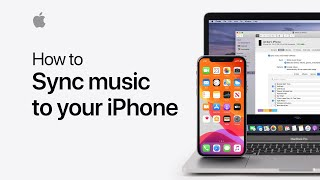 Gambar cover How to sync music from your Mac to your iPhone or iPad in macOS Catalina — Apple Support