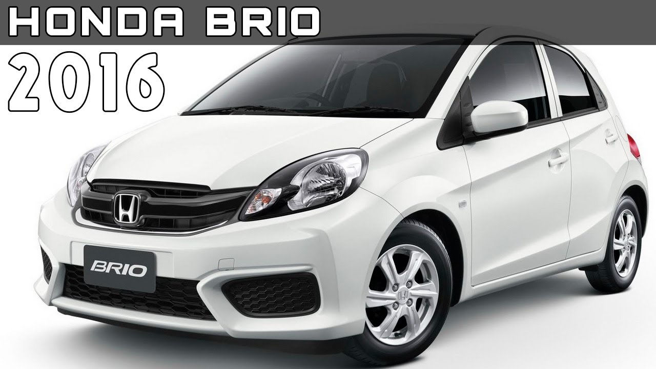 2016 honda brio review rendered price specs release date - youtube