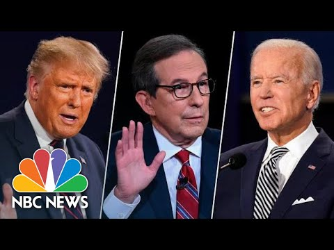 First Presidential Debate Kicks Off With Interruptions, Insults   NBC News
