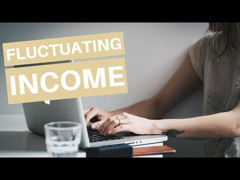 How To Budget On a Fluctuating, Inconsistent, or Irregular Income
