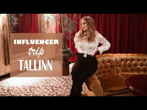 INFLUENCER TRIP TALLINN - vlog -January -19 | SandraEmilia