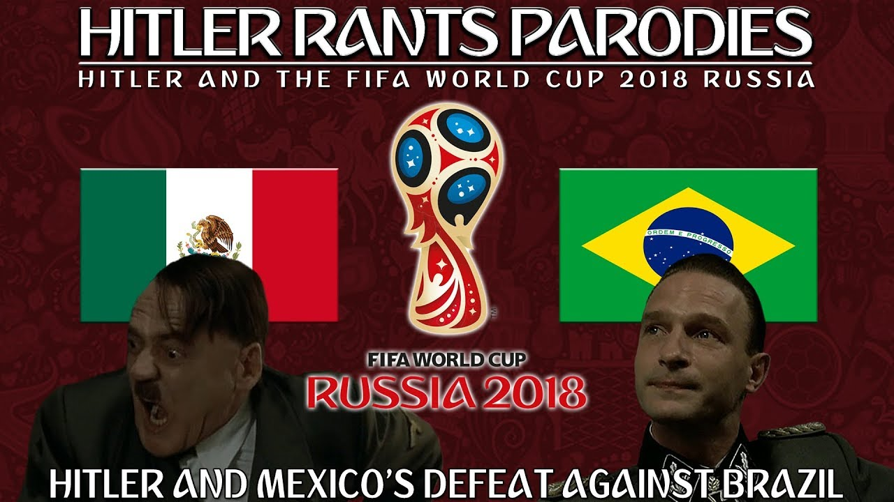Hitler and Mexico's defeat against Brazil in the World Cup