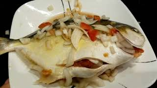 The best Grilled Pompano Fish recipe Filipino/ Ilonggo  style