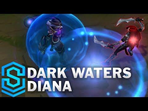Dark Waters Diana (2019) Skin Spotlight - League of Legends