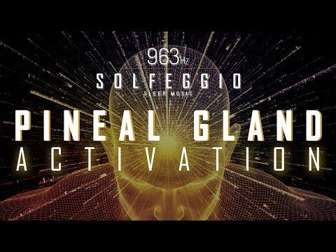 963 Hz   Pineal Gland Activation   Solfeggio Sleep Music   9 Hours