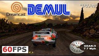 Dreamcast V-Rally 2 Expert Edition 60fps 1440p 16:9 Demul emu (2000)
