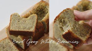 (eng) Earl Grey White Brownies…