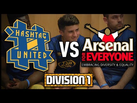HASHTAG UNITED vs ARSENAL FOR EVERYONE @ THE EMIRATES! SCOTT POLLOCK'S DEBUT! - DIVISION 1!