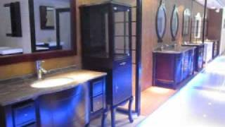 Antique Wooden Bathroom Vanities.flv