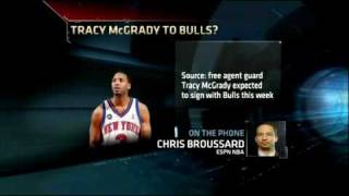 Tracy McGrady eyes Chicago Bulls after workout - ESPN Chicago