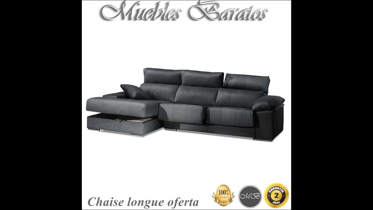 chaise longue baratos en nuestra tienda de sofas y