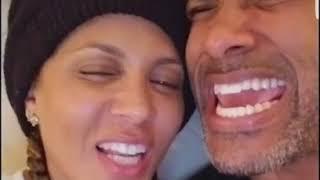 "Boris Kodjoe & wife Nicole ari Parker do ,""The Old School Challenge"""