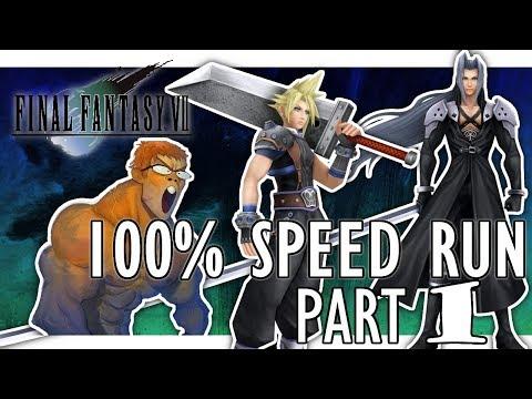 Final Fantasy VII 100% Speedrun(25:21:08) Part 1