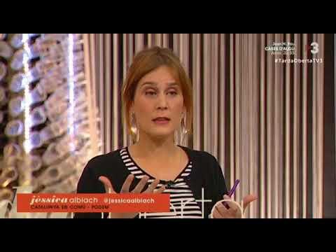 Jessica Albiach Analitza Lactualitat Poltica A Tarda Oberta De TV3