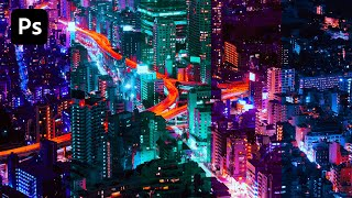 Color Split Photo Effect - Adobe Photoshop CC 2020 (Tutorial)