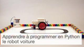 Apprendre à programmer en Python - voiture robot