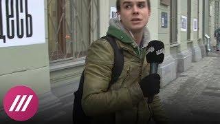 Журналиста и оператора Дождя отпустили из ОВД. Прямой эфир с Владимиром Роменским