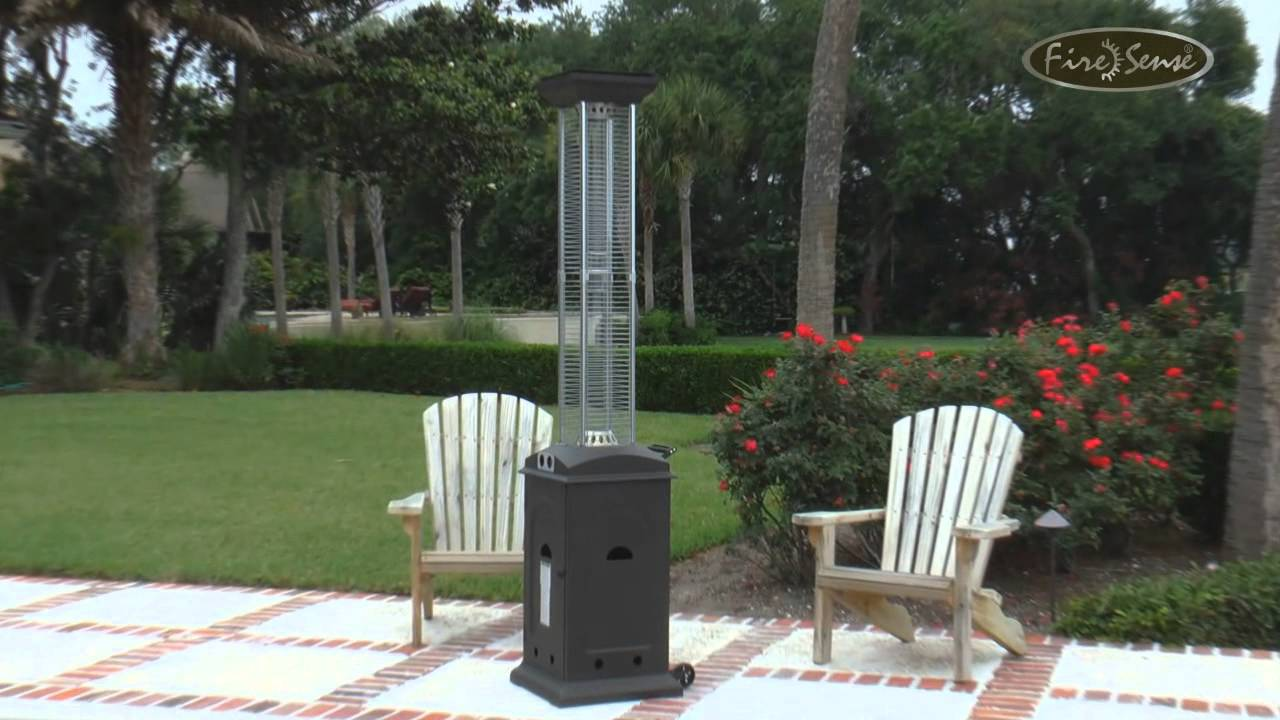 7 Foot Vertical Flame Patio Heater