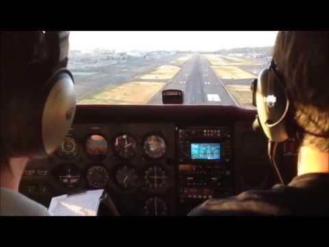Landing at Boeing Field (Seattle, WA)
