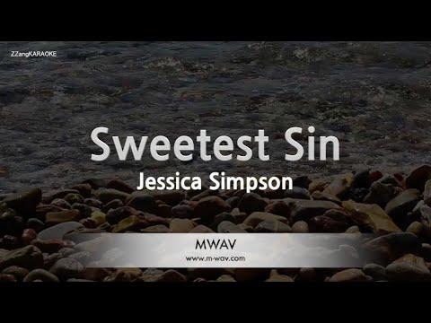 Download Jessica Simpson-Sweetest Sin (Melody) [ZZang KARAOKE]