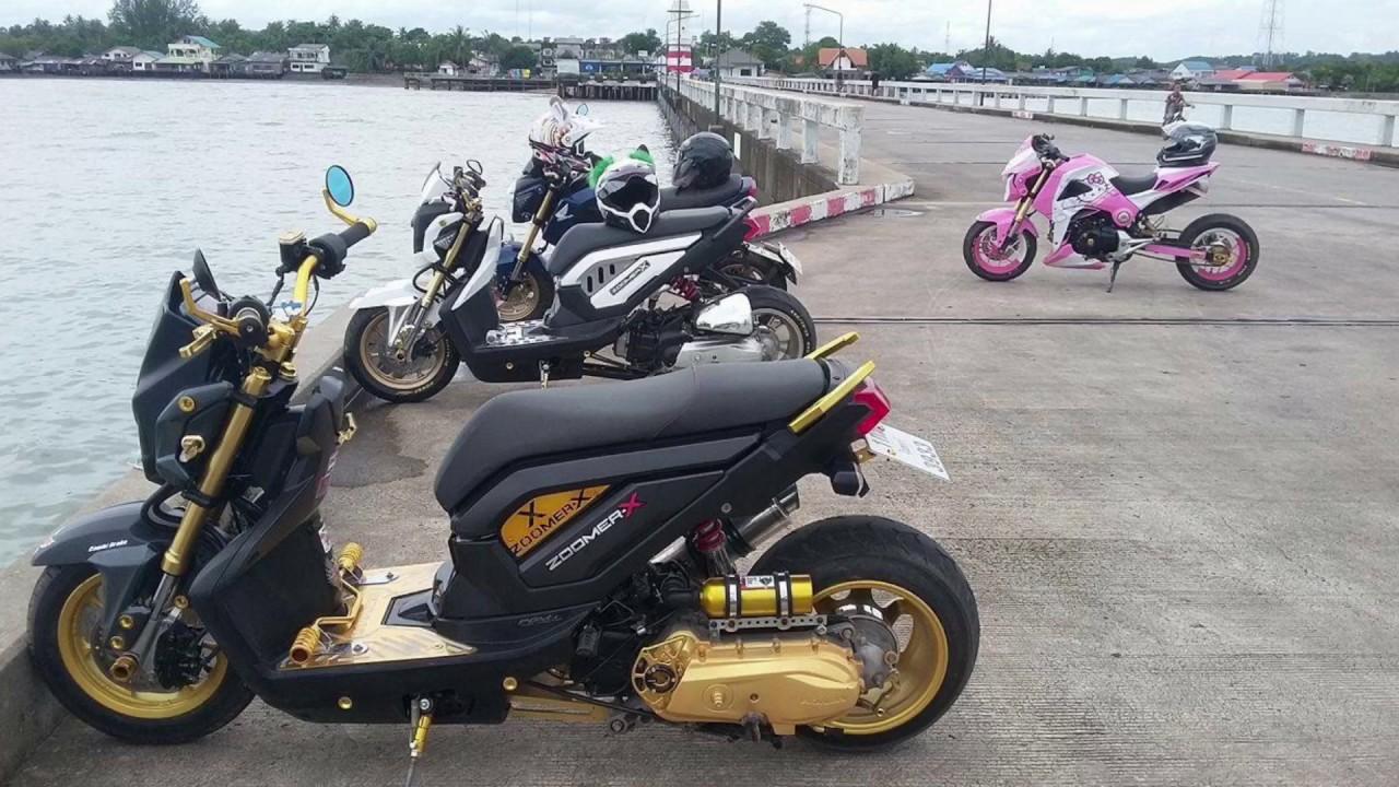 Honda Zoomer X And Max Family Cambodia Club 2017