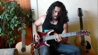 Dream Theater-The Dark Eternal Night- Full Guitar Cover-Hugo Hermosilla