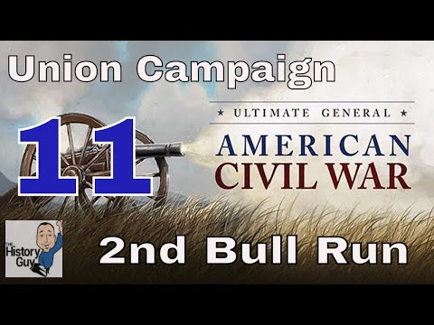 BLOODLESS MANASSAS - 2ND BULL RUN Quick Victory - Ultimate General: Civil War - Union Campaign - #11
