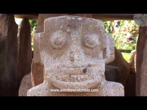 SAN AGUSTIN Colombia - Parque Arqueologico patrimonio de la Humanidad UNESCO