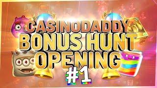 €14000 Bonushunt - Casino Bonus opening from Casinodaddy LIVE Stream
