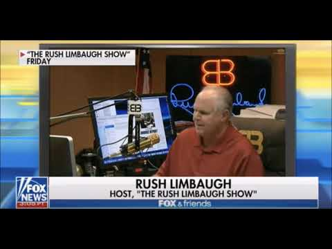 Media Gets Titillated About Trump, DACA and Rush Limbaugh (Limbaugh commentary)