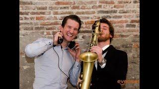 DJ met saxofonist voor bruiloft, huwelijk, trouwfeest   te boeken op www.Evenses.com