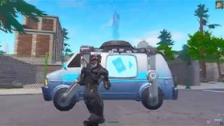 How to USE the RESPAWN VAN by using this glitch in Fortnite!