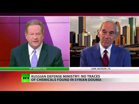 'Assad had no reason to launch chem attack, unlike those who want US involvement' – Ron Paul