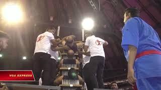 Nhóm võ sư Ấn Độ phá kỷ lục Guinness Thế giới