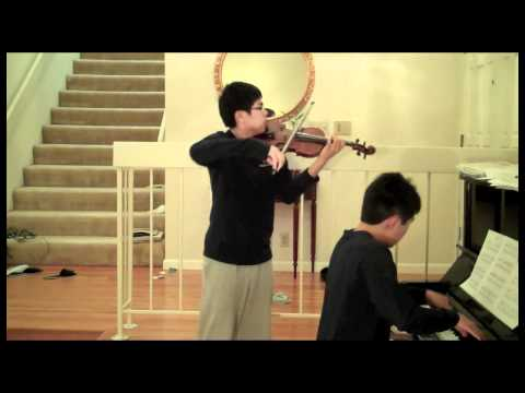 Joe Hisaishi  Ashitaka and San from Princess Mononoke Violin and Piano