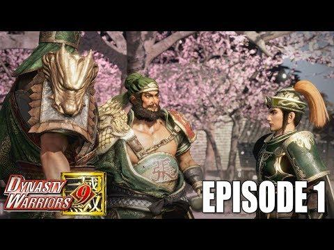 "DYNASTY WARRIOR 9:  SHU'S KINGDOM FULL STORY ""OATH OF THE PEACH GARDEN"" EPISODE 1"