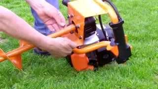 Repeat youtube video Fuxtec Erdbohrer Set - Sveder za zemljo   FX-EB152