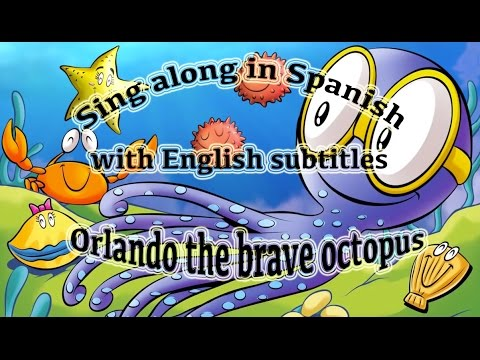 Sing along in Spanish