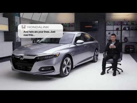 2018 Honda Accord Touring Honda Link App Youtube
