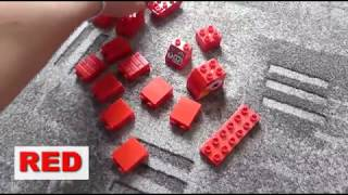 Learn Colors with Lego for Kids Building Blocks Toys for Children  - 1/9