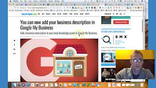 Google My Business Updates Business Description & More