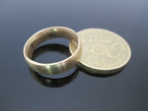 Homemade Ring From 50 Cent Coin (+ Updates)