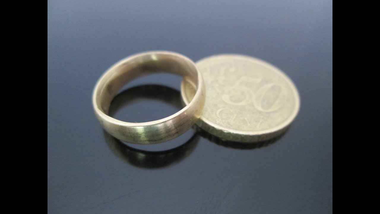 Homemade Coin Ring