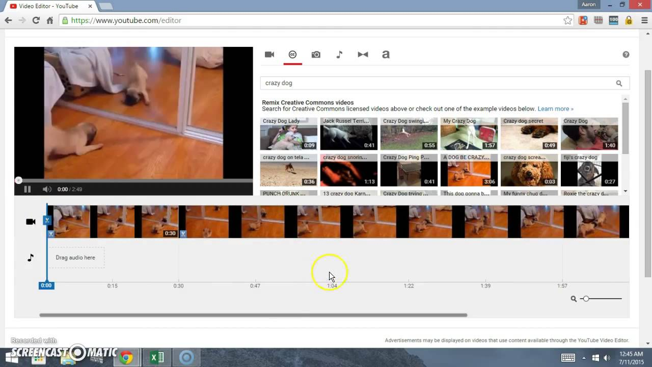 How to Use Youtube Video Editor - Creative Commons - Make ...